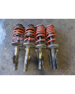 Set of Front and Rear Shock Spring